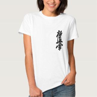 Kyokusin Karate Kanji Ladies T-Shirt