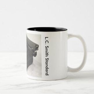 L.C. Smith Standard typewriter Two-Tone Mug