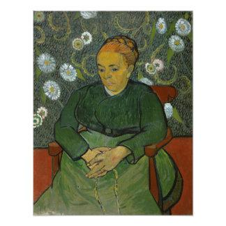 La Berceuse Augustine Roulin by Vincent Van Gogh Photographic Print