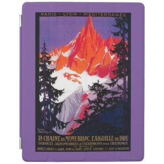 La Chaine De Mont-Blanc Vintage PosterEurope iPad Cover