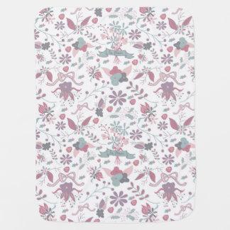 La Fleur Bebe Blanket Receiving Blanket