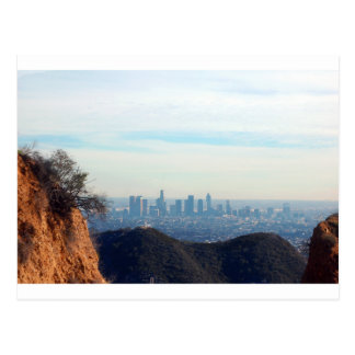LA framed mountain Postcard