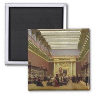 La Galerie Campana, 1866 Square Magnet