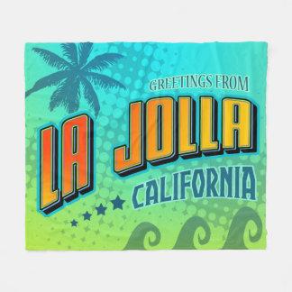 La Jolla California Blanket