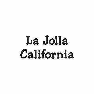 La Jolla California Embroidered Polo Shirt !!!