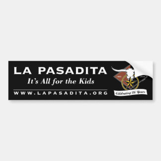 La Pa 20th bumper sticker