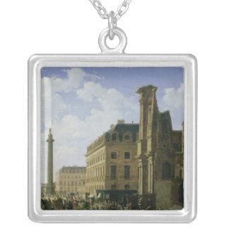 La Place Vendome, 1808 Silver Plated Necklace