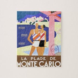 La Plage de Monte Carlo Puzzle