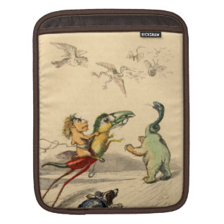 La Poursuite (The Chase) iPad Sleeve