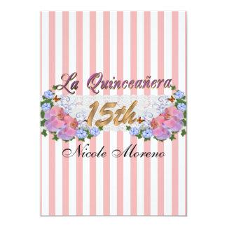 La Quinceanera 15th birthday party invitation