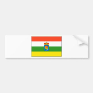 La Rioja (Spain) Flag Bumper Sticker
