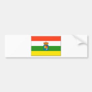 La Rioja (Spain) Flag Bumper Sticker