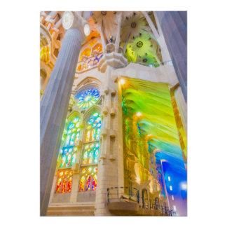 La Sagrada Família - Barcelona, Spain Poster