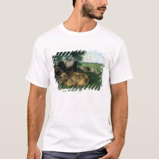 La Siesta Pendant la saison des foins , 1867, T-Shirt