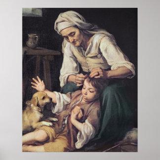 La Toilette Domestique', 1670-75 Poster