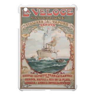 La Veloce Steam Ship Poster iPad Mini Case