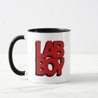 LAB BOY BIG RED LABORATORY MUG