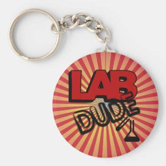 LAB DUDE - LABORATORY KEY RING