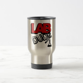 LAB DUDE - LABORATORY STAINLESS STEEL TRAVEL MUG