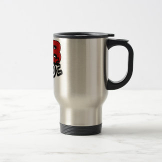 LAB DUDE LABORATORY STAINLESS STEEL TRAVEL MUG