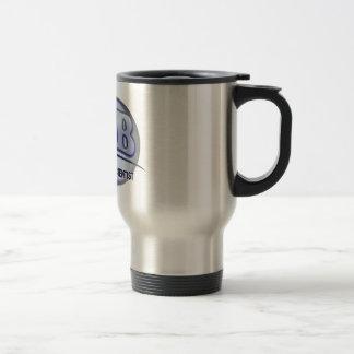 LAB - LABORATORY SCIENTIST! Fun Blue LOGO Stainless Steel Travel Mug