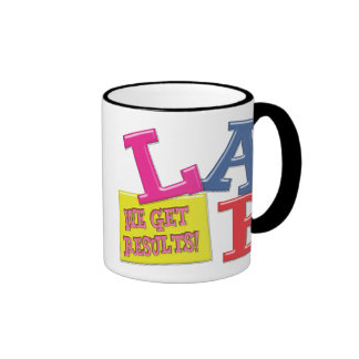 LAB MOTTO - WE GET RESULTS - MEDICAL LABORATORY RINGER MUG
