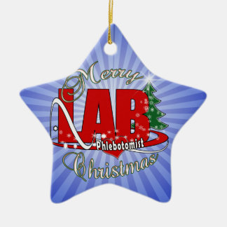 LAB PHLEBOTOMIST CHRISTMAS CHRISTMAS ORNAMENT