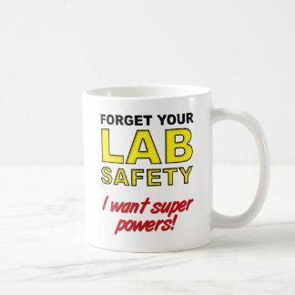 Lab Safety Funny Mug