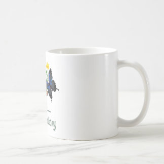 Laboratory Butterflies Basic White Mug