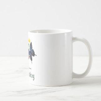 Laboratory Butterflies Basic White Mug