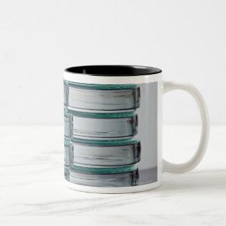 Laboratory Dish Two-Tone Coffee Mug