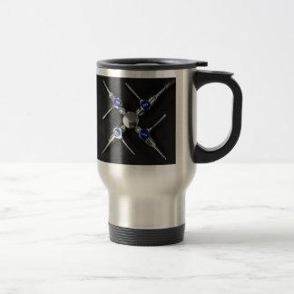 Laboratory Gas Valves 15 Oz Stainless Steel Travel Mug
