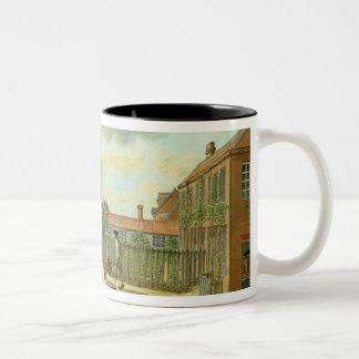 Laboratory Square Two-Tone Coffee Mug