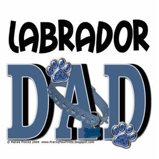 Labrador DAD Standing Photo Sculpture