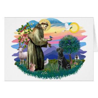 Labrador Retriever (black) Card