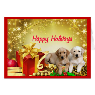 Labrador Retriever Christmas Card Gift1