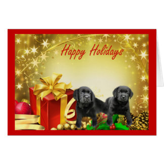 Labrador Retriever Christmas Card Gift5
