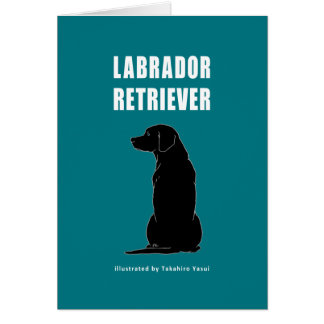 Labrador Retriever Greeting Card