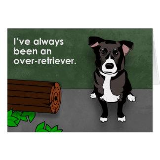 Labrador Retriever Humor Card