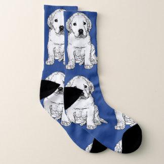 Labrador Retriever puppy  dog socks 1