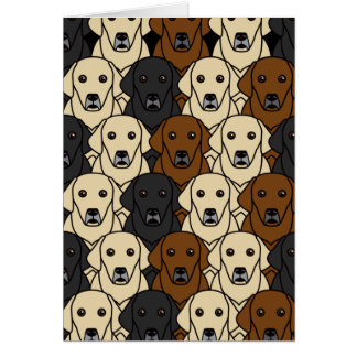 Labrador Retrievers Card