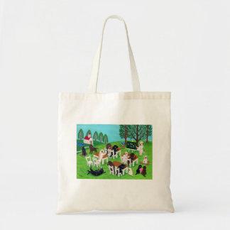 Labrador School Tote Bag