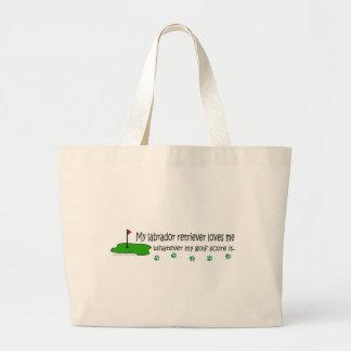 LabradorRetriever Large Tote Bag