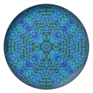 Labyrinth Mandala Plate
