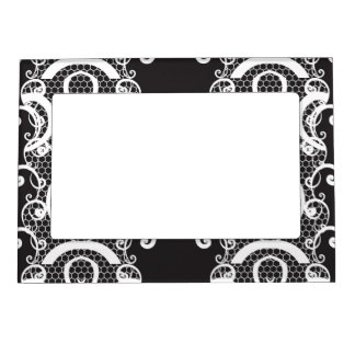 Lace background 1 magnetic frame