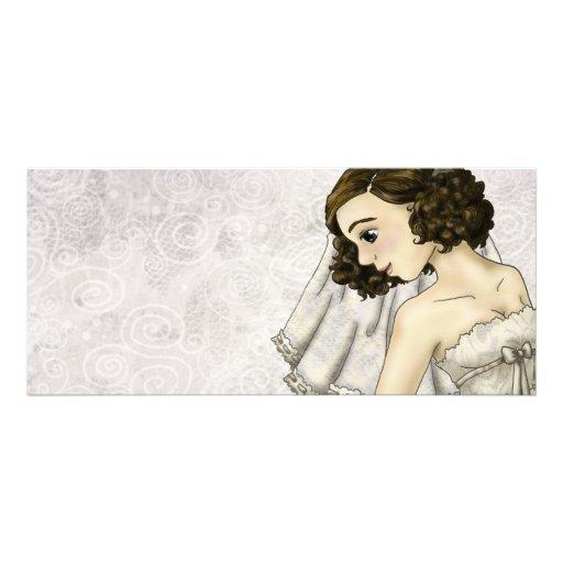 Lace Bride Rack Card Design