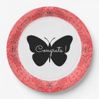 Lace-Fresco_Sangria_ Template-Butterfly_Congrats Paper Plate