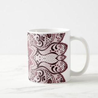 Lace Lover Basic White Mug