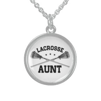Lacrosse Aunt Sterling Silver Necklace