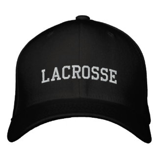Lacrosse Embroidered Cap